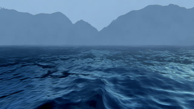 mountains and rough seas - seascape stock videos & royalty-free footage