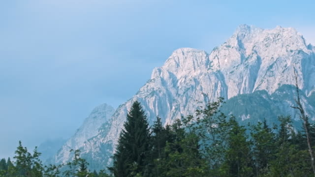 mountains in slovenia - slovenia stock videos & royalty-free footage