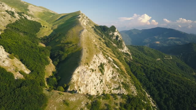 mountains in summer season in italy - italy stock videos & royalty-free footage