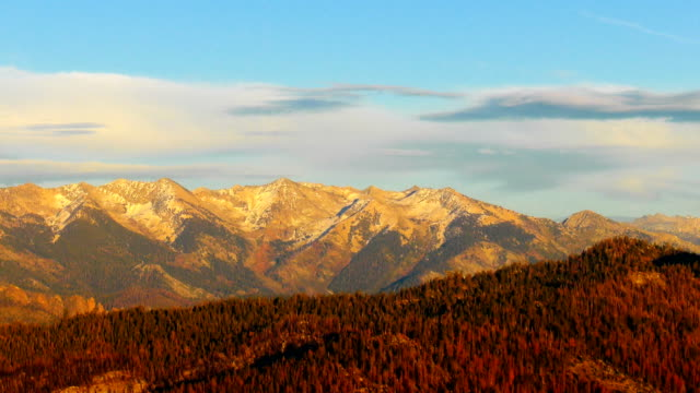 Mountains of Sierra Nevada