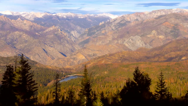 mountains of sierra nevada - californian sierra nevada stock videos & royalty-free footage