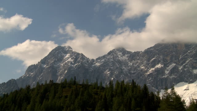mountains steady shot - dachstein mountains stock videos and b-roll footage