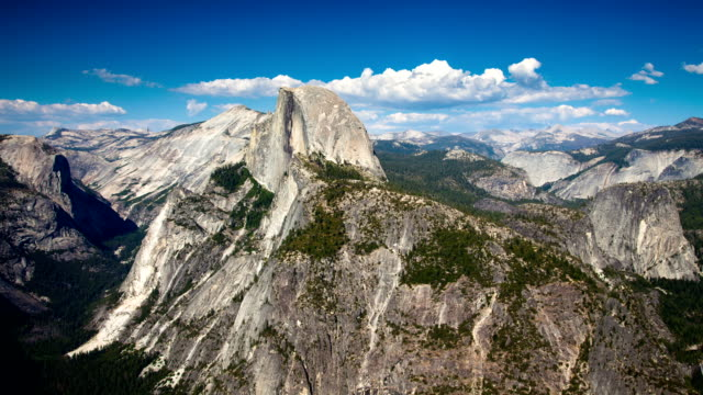 time lapse: mountains - half dome stock videos & royalty-free footage