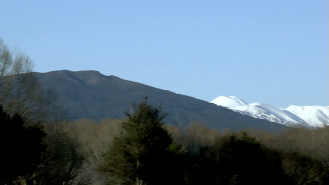 mountains #8 - tongariro national park stock videos & royalty-free footage