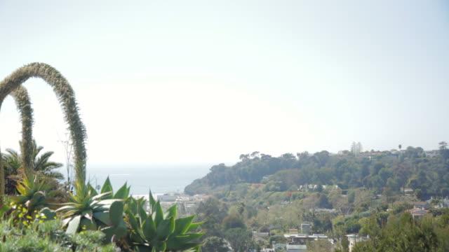 Mountainside overlooking ocean