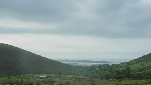 mourne mountain morning, northern ireland - ireland stock videos & royalty-free footage