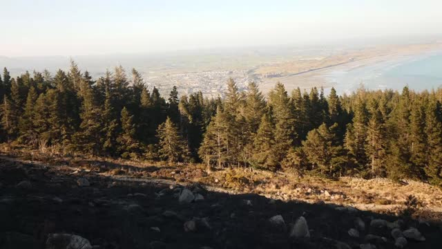 mourne mountains wildfire: officials allege fires were started deliberately; northern ireland: county down: mourne mountains: ext burnt heather... - mountain range stock videos & royalty-free footage