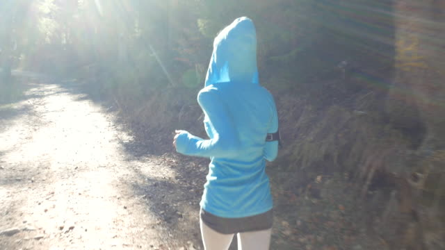 mourning jogging - hooded top stock videos & royalty-free footage