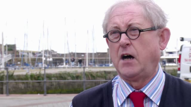 move to tackle aggressive seagull behaviour councillor graham roberts interview sot don't want peopl to feel intimidated or keep away from the town - aggression stock videos & royalty-free footage