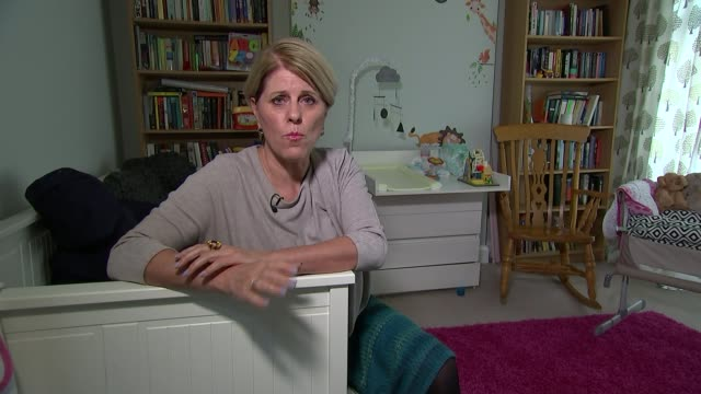 Move to tackle high level of still births in England Reporter and Dee Taliadoros looking through documents Dee Taliadoros Close shot of document...
