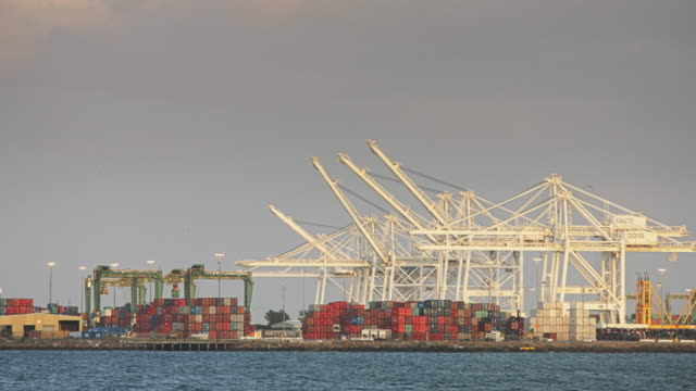 Movement in the Port of Los Angeles/Long Beach