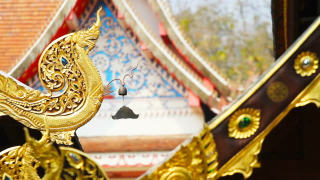 Movement of Buddhist Temple Bell
