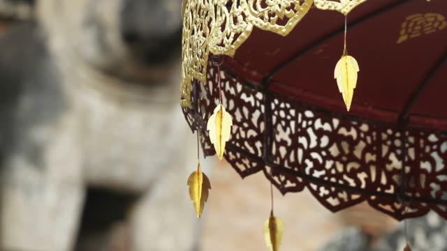 Movement of Buddhist Umbrella