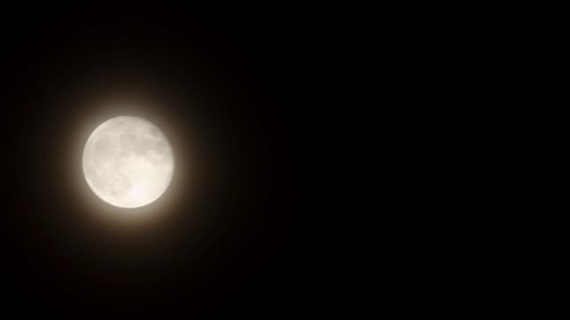 stockvideo's en b-roll-footage met movement of the moon - astrologie