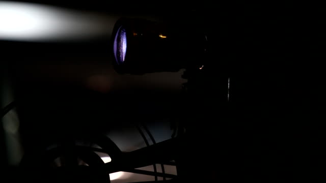 movie film projector - projection stock videos & royalty-free footage