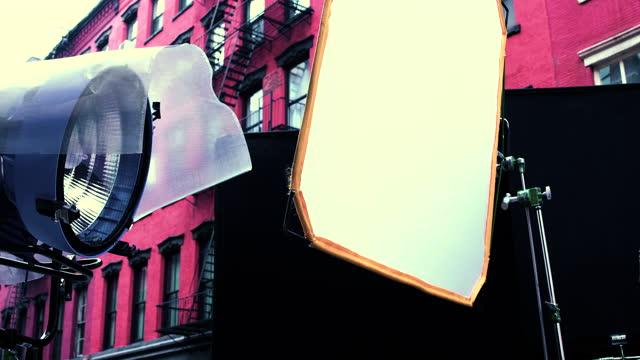 vidéos et rushes de lieu du film - soho nyc - 2021 - décor de cinéma