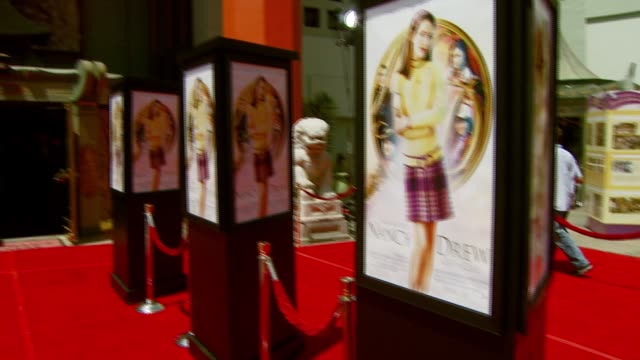 Movie Poster at the 'Nancy Drew' Premiere at Grauman's Chinese Theatre in Hollywood California on June 10 2007