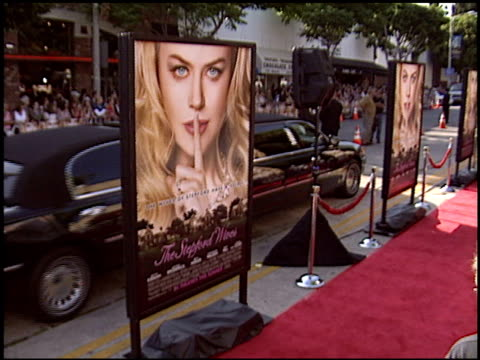 movie poster at the premiere of 'the stepford wives' on june 6 2004 - movie poster stock videos & royalty-free footage