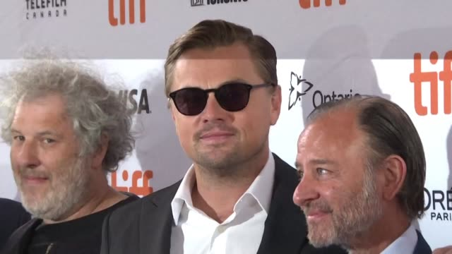 movie star and environmental activist leonardo dicaprio unveils his latest production project at the toronto international film festival: a... - documentary film stock videos & royalty-free footage