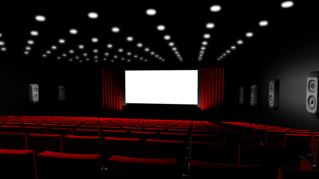 kino-bildschirm - filmpremiere stock-videos und b-roll-filmmaterial