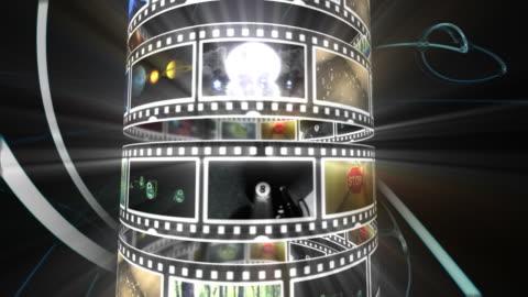 movie tube - dvd stock videos & royalty-free footage