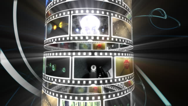 movie tube - dvd stock videos & royalty-free footage