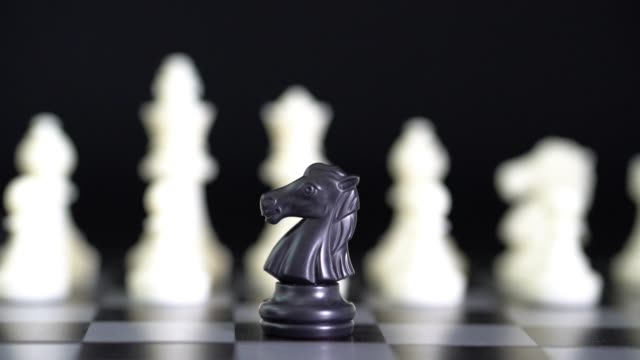 moving a chess pieces - chess stock videos & royalty-free footage