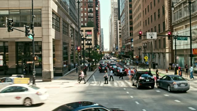 moving around chicago - the americas stock videos & royalty-free footage