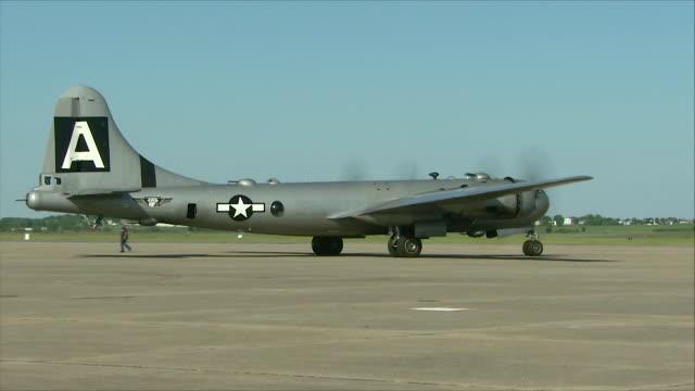 B-29 moving at airport