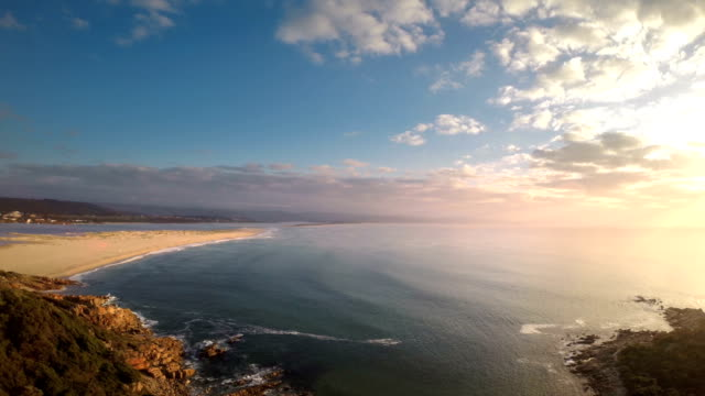 Moving away from Plettenberg Bay Beach