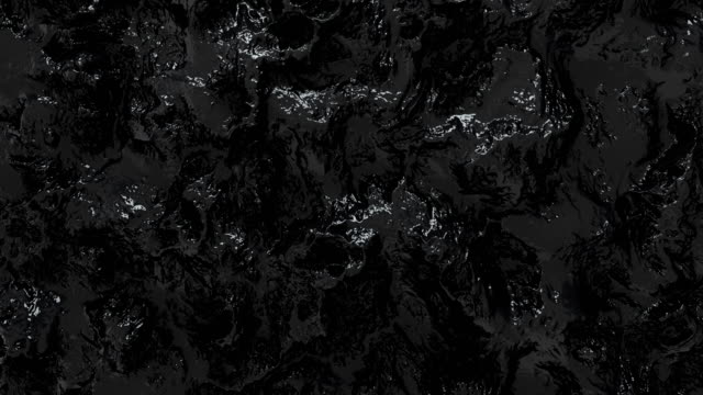 moving black surface of a boiling liquid - black colour stock videos & royalty-free footage