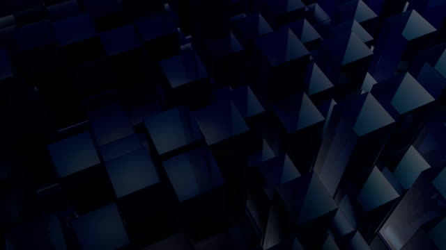 moving blue blocks - contracting stock videos & royalty-free footage