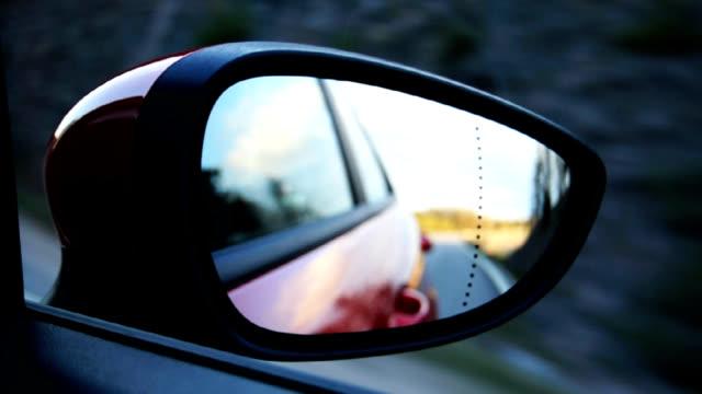 Moving Auto-Rückspiegel