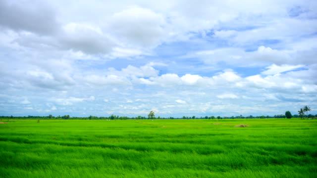 Rörliga moln på gården tidsfördröjning