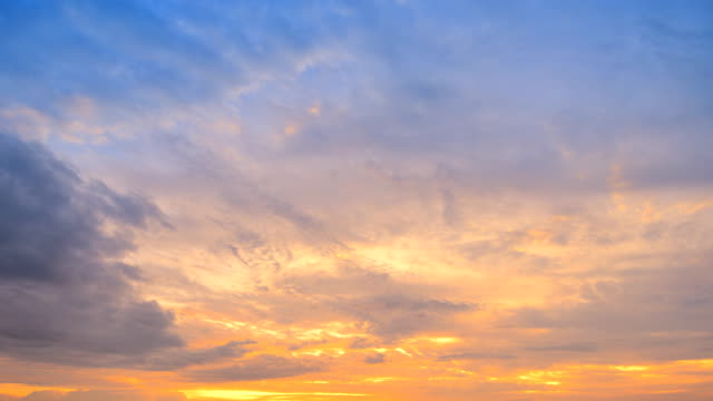 moving cloud at sunset (hdr) time lapse - lush stock videos & royalty-free footage