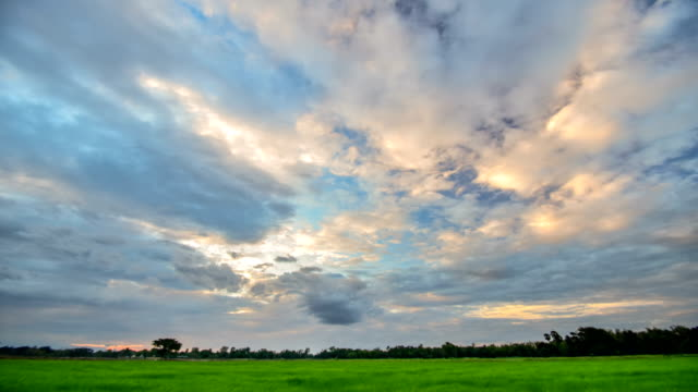 moving cloud at sunset time lapse - simplicity stock videos & royalty-free footage