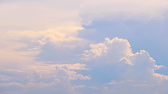 moving cloud at sunset - heaven stock videos & royalty-free footage