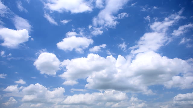 moving cloud - white cloud sky stock videos & royalty-free footage
