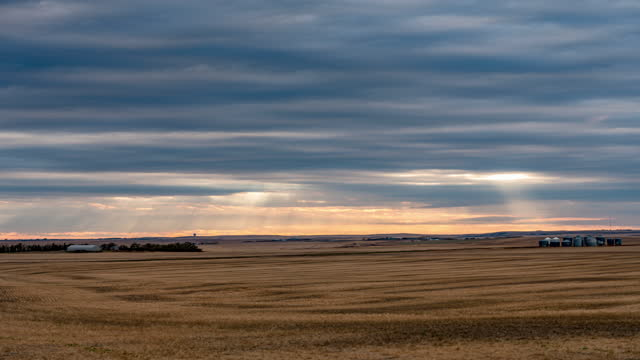 moving clouds and shadow over prairie - prairie stock videos & royalty-free footage