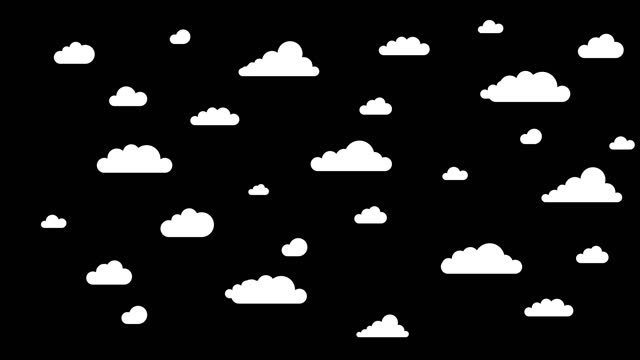 vídeos y material grabado en eventos de stock de 4k nubes en movimiento - blanco y negro loopable video - imagen virada