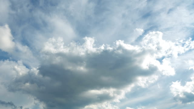 moving clouds time lapse ,moody blue clouds sky - astronomy stock videos & royalty-free footage