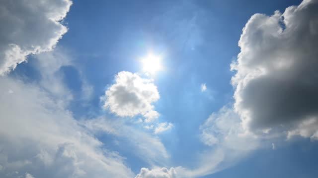 移動雲のタイムラプス - bright点の映像素材/bロール