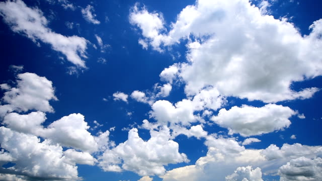 moving clouds timelapse - sky stock videos & royalty-free footage