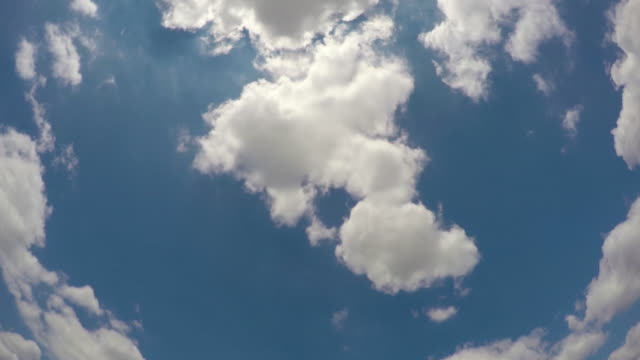 moving clouds timelapse - below stock videos and b-roll footage