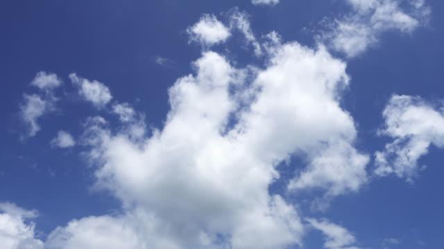 vidéos et rushes de moving clouds - ciel seulement