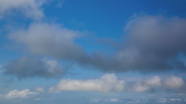 stockvideo's en b-roll-footage met bewegende wolken - alleen lucht