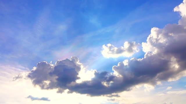 Bewegte Wolken