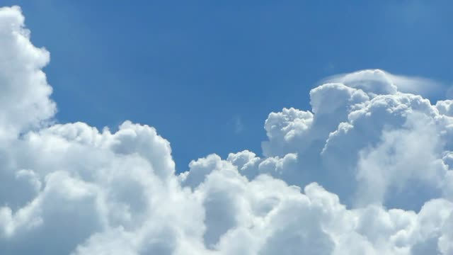 moving clouds - cumulus cloud stock videos & royalty-free footage