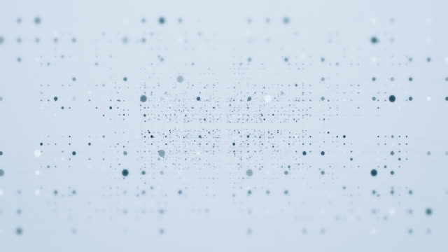 moving connection lines with spotted dots - zoom in stock videos & royalty-free footage