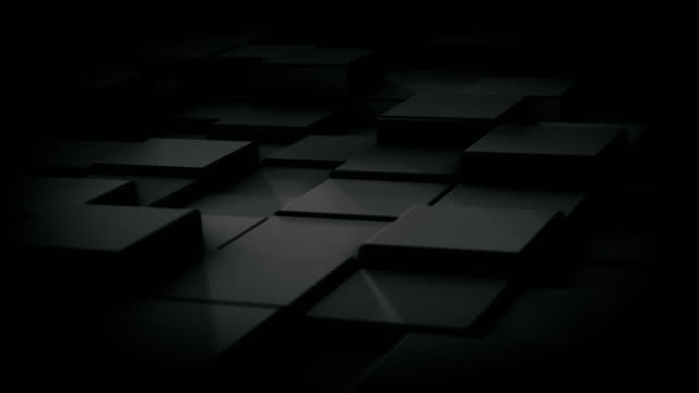 moving cubes animated motion background - cube stock videos and b-roll footage